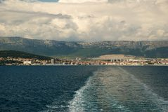 Voyage from Split Stock Photo