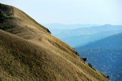 Voyage sur la montagne Photographie stock