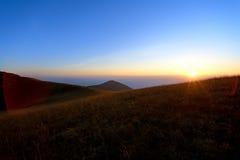 Voyage sur la montagne Photographie stock libre de droits