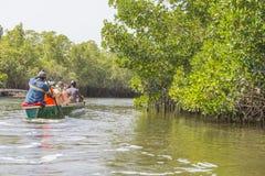 Voyage sur la rivière Photos stock