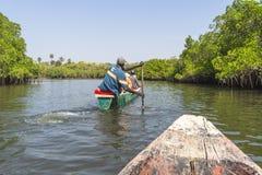 Voyage sur la rivière Photographie stock