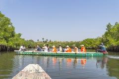 Voyage sur la rivière Images libres de droits
