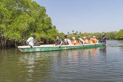 Voyage sur la rivière Photos libres de droits