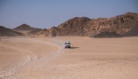 Voyage sur le désert près de Hurghada Images libres de droits
