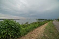 Voyage sur le pays du fleuve Pô de del de delta Photographie stock