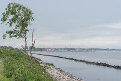 Voyage sur le pays du fleuve Pô de del de delta Image stock