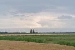 Voyage sur le pays du fleuve Pô de del de delta Photographie stock libre de droits