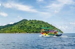Voyage sur un bateau, vacances Photographie stock libre de droits