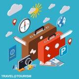 Voyage, tourisme, concept de vecteur de vacances Photographie stock