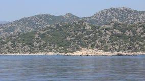 Voyage. Turkey, Kekova-Simena Region, Apollonia, Western Taurus Royalty Free Stock Image