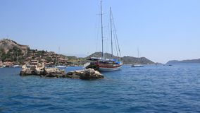Voyage. Turkey, Kekova-Simena Region, Apollonia, Western Taurus Royalty Free Stock Photos