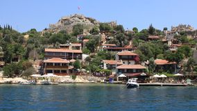 Voyage. Turkey Kekova-Simena Region, Western Taurus stock video
