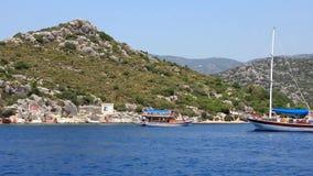 Voyage. Turkey, Kemer, Kekova-Simena Region, Western Taurus Stock Images