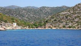 Voyage. Turkey, Kemer, Kekova-Simena Region, Western Taurus Royalty Free Stock Images