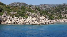 Voyage. Turkey, Kemer, Kekova-Simena Region, Western Taurus Stock Photography