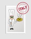Voyage vers l'Italie illustration stock