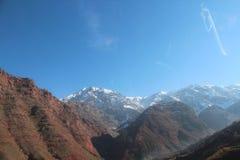 Voyage vers le Maroc Scénique, nature, paisible photographie stock libre de droits