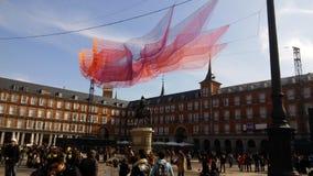 Voyage vers Madrid photo libre de droits
