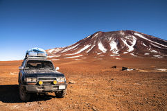 voyage 4x4 tous terrains Image libre de droits