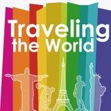 Voyageant le monde illustration libre de droits