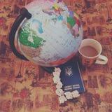 Voyageons Photos libres de droits