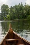 Voyager canoe Royalty Free Stock Photo