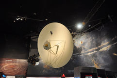 Voyager Model in National Air and Space Museum. Washington DC, USA Royalty Free Stock Photography