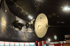 Voyager Model in National Air and Space Museum Stock Image