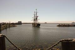 Voyages de découverte - bateaux grands Images libres de droits
