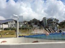 2014 voyages de ' octobre 'vers l'Okinawa Images stock