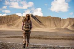 Voyages de touristes vers l'Am?rique pendant l'automne images stock
