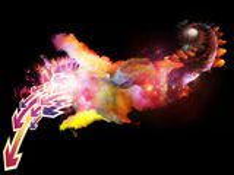 Voyages to Design Nebulae Stock Image