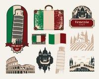 Voyages vers l'Italie Image libre de droits