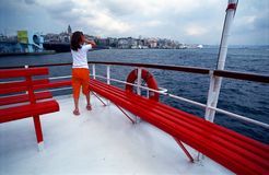 Voyageur Image libre de droits