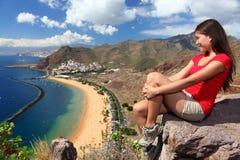 Voyageur de Tenerife Images libres de droits