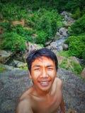 Voyageur Indonésie Image libre de droits