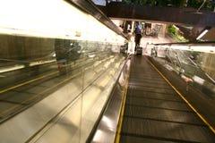 Voyageurs d'aéroport Photo libre de droits