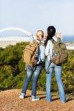 voyageurs voyageant Durban Photos stock