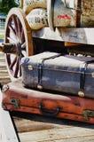 Voyagez dans le passé - HDR Image stock
