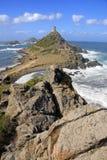 Voyagez de la Parata, Ajaccio, Corse, France Photo stock