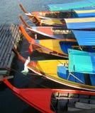 Voyagez les bateaux dans le compartiment de Phang Nga, Thaïlande Images libres de droits