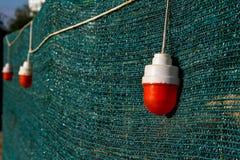 Voyants d'alarme rouges Photographie stock libre de droits