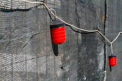 Voyants d'alarme rouges Photos stock