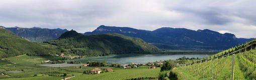 Voyez dans le Tirol dans Kaltern images libres de droits
