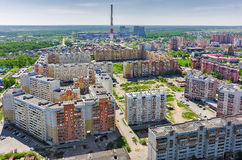 Voynovka residential area. Tyumen. Russia Stock Photography