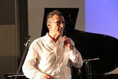 Voz Jazz Gege Telesforo Imagen de archivo libre de regalías
