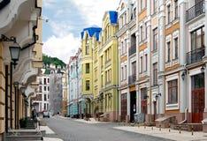 Vozdvizhenka district in Kiev, Ukraine Stock Photos