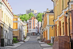 Vozdvizhenka district in Kiev, Ukraine 3 Royalty Free Stock Photos