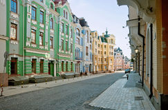 Vozdvizhenka district in Kiev, Ukraine 5 Royalty Free Stock Photos