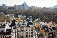 Vozdvizhenka elita okręg w Kijów, Ukraina obrazy royalty free